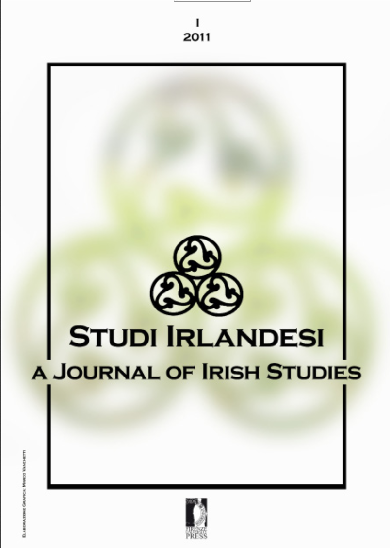 Introduction Studi Irlandesi A Journal Of Irish Studies