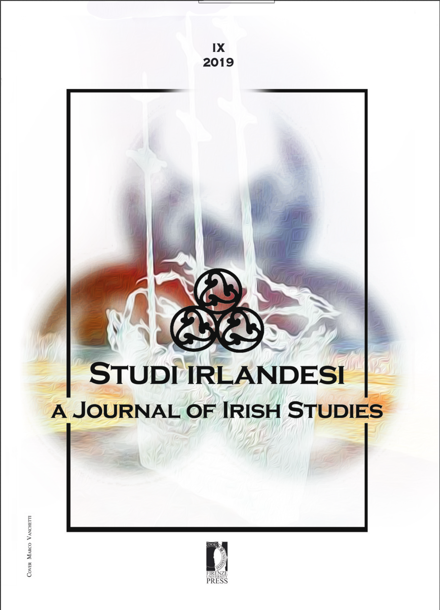 Archives Studi Irlandesi A Journal Of Irish Studies