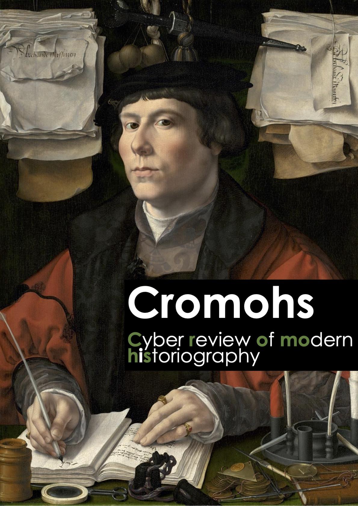 Cover image Cromohs 23, 2020, background: Jan Gossaert, Portrait of a Merchant, ca. 1530, Ailsa Mellon Bruce Fund, National Gallery of Art. Open access image